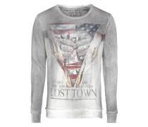 Sweatshirt 'lost Town' anthrazit / mischfarben
