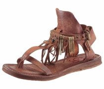 -Sandale braun