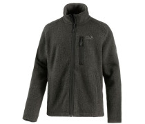 Milton Strickfleece Herren anthrazit