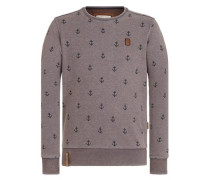 Sweatshirt 'Rise Of An Enemy Iii' taupe