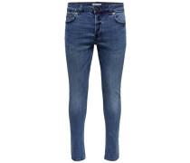 Slim Fit Jeans 'Spun' blue denim