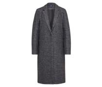 Übergangsmantel 'onlHELLA Long Wool Coat Otw' dunkelgrau