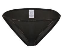 Slip mit Logo-Bund schwarz