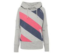 Sweatshirt 'Middleton Light' blau / grau / pink