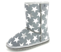 Stiefel 'Starry Night' grau