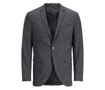 strukturierter Blazer grau / graumeliert