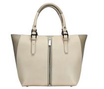 Conner Shopper Tasche beige / grau
