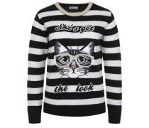 Strickpullover CAT schwarz