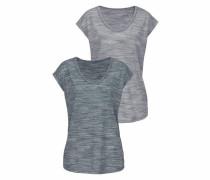 Beachtime Shirts (2 Stück) graumeliert
