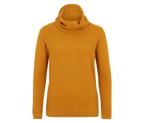 Maschenmix-Pullover 'Morgan' gelb