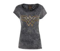 T-Shirt 'Wonder Woman' graphit