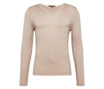 Pullover mit V-Ausschnitt 'Rafal' nude