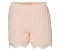 Shorts mit Spitze pink