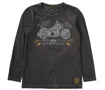 Sweatshirt für Jungen schwarz