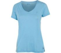 Abisko Cool T-Shirt Damen blau / hellblau