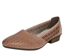 Ballerina 'Casual' mit Cut Out-Muster rosé