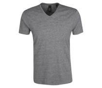 Basic T-Shirt graumeliert