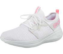Sneaker weiß / hellpink