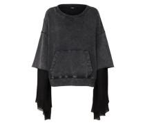 Pullover 'Boxy' schwarz