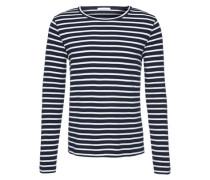 Sweatshirt 'Walder' blau / weiß
