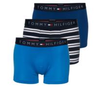 Boxer im 3er Pack blau