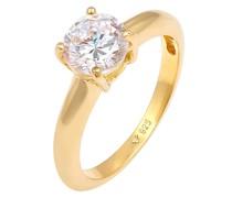 Ring Solitär-Ring gold