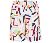 Shorts Overknee mischfarben