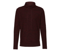 Pullover 'joraugust Knit High Neck' rot