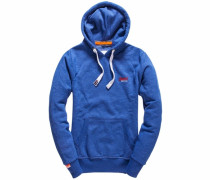 Kapuzensweatshirt »Orange Label Hood« blau