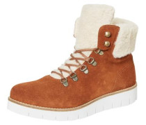 Winter-Stiefel cognac