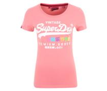 T-Shirt 'Premium Goods Rainbow' mischfarben / pink