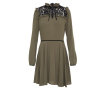 Kleid 'lace&bow' oliv