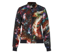 Blouson mit Space-Print mischfarben