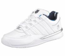 Sneaker 'Baxter' silber / weiß