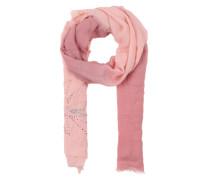 Schal mit Farbverlauf pink