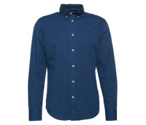 Hemd 'Button down' dunkelblau