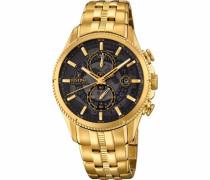 Chronograph »F20269/3« gold / schwarz