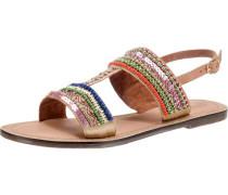 Sandaletten camel / cognac / mischfarben