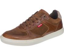 Sneaker 'Perris Oxford' braun / perlweiß