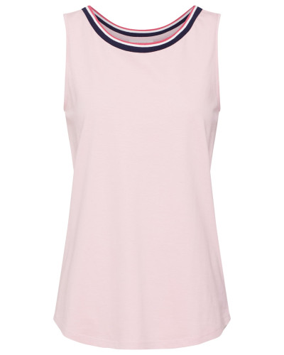 Top 'Tape' dunkelblau / pink / rosa