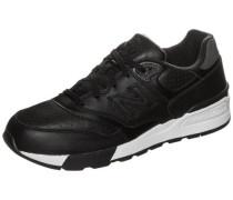 Sneaker 'ml597-Bll-D' schwarz / weiß