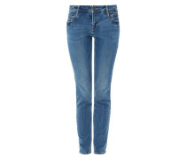 Shape Superskinny: Stretch-Jeans blue denim