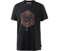 T-Shirt 'access' schwarz
