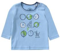 Baby Langarmshirt für Jungen blau