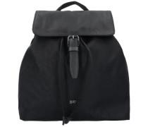 'Barcelona Nylon 16' City Rucksack 30 cm schwarz