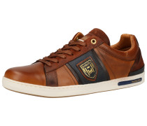Sneaker braun / dunkelblau