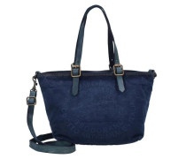Eucalipto Handtasche 26 cm blau
