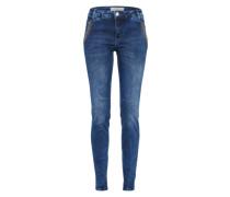 Skinny Jeans 'Etta Shine Long' blue denim