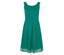 Trägerkleid mit Falten smaragd