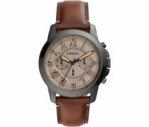 Chronograph »Grant« braun / silber